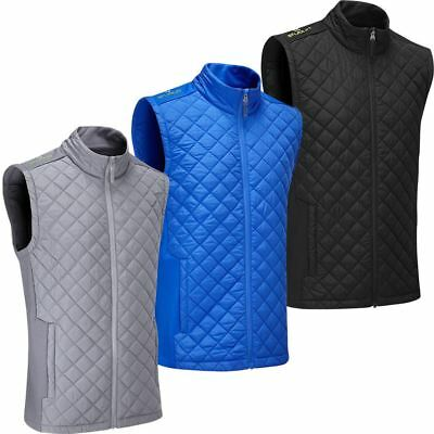 Stuburt Golf 2017 Mens Endurance Sports Thermal Full Zip Padded WindProof Gilet