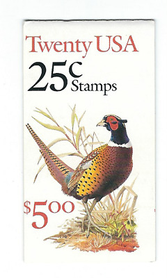Scott #2283 .. 25 Cent.. Pheasant....Booklet  With 20 Stamps