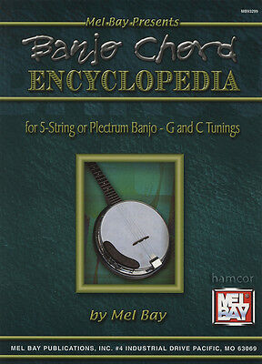 Banjo Chord Encyclopedia for 5-String or Plectrum C&G Tunings Chord Book