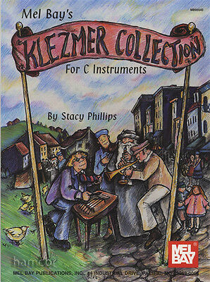 Klezmer Collection for C Instruments Sheet Music Book