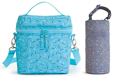 Kenley Insulated Baby Bottle Bag Warmer Cooler Travel Carrier Milk Bottles Tote