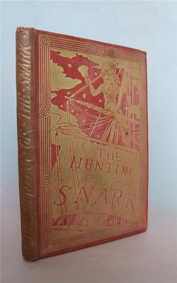 The Hunting of the Snark, Lewis Carroll, 1897, Illustrated by Henry Holiday
