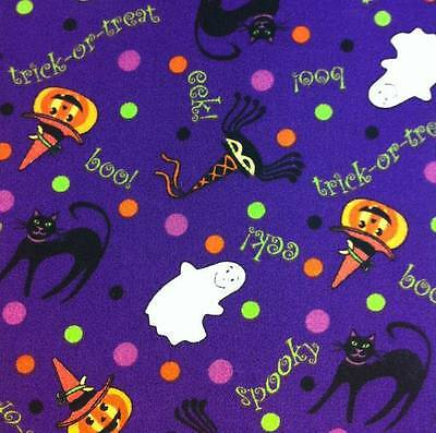 Longaberger Fabric NAPKIN SINGLE (1)  - HALLOWEEN PARTY - New -  Cute!