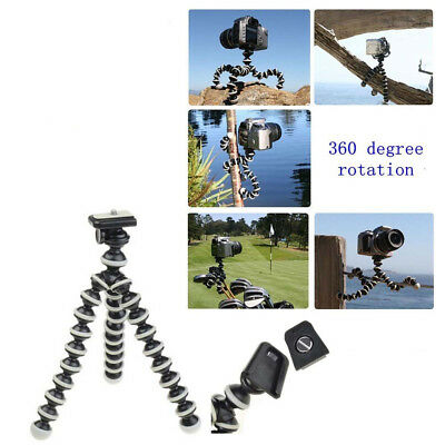 360 Rotational Flexible Octopus Tripod Stand Gorillapod For Camera Phone L/M/S