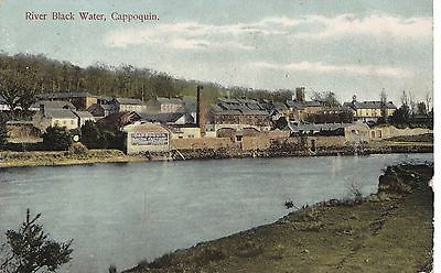 ki irish postcard ireland waterford cappoquin showing the bacon factory