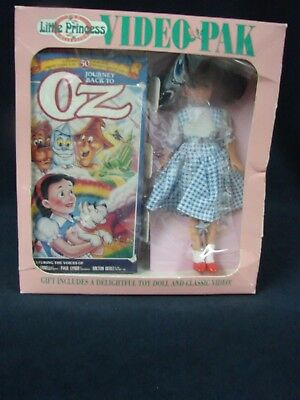 1993 The Little Princess  Video Pak  Journey Back to Oz Wizard of Oz Doll
