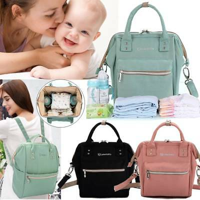 Multifunctional Mummy Baby Diaper Nappy Backpack Waterproof Large Changing Bag