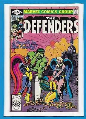 The Defenders #89_November 1980_Vf_Daredevil_Clea_Mandrill_Bronze Age Marvel!