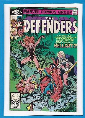THE DEFENDERS #94_APRIL 1981_FINE+_1st APPEARANCE OF GARGOYLE_BRONZE AGE MARVEL!