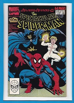 The Spectacular Spider-Man Annual #9_1989_Fine/very Fine_Cloak And Dagger!