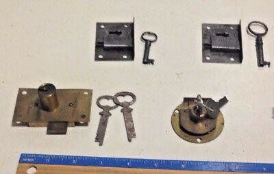 Cabinet,Lock,Cupboard Surface Mounted Brass Vintage,mortise,desk,drawer,chest