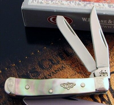 Case BLACK PEARL Tiny Trapper Knife 2005 From Encyclopedia Mint Set KNOCKOUT! NR