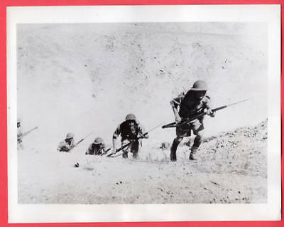 1941 Jewish Soldiers Train in Palestine to Protect Land of David 7x9 News Photo