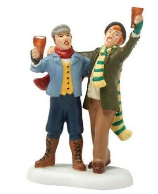 Dept 56 Dickens Village Pub Patrons #4020192 BRAND NEW Free Shipping
