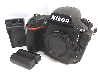 Nikon D810 36.3mp USA Digital Camera w/ Battery & Charger **Excellent Condition*