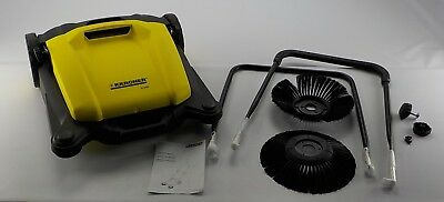 Karcher 1.766-303.0 - S650 Outdoor Push Sweeper - Yellow/Black