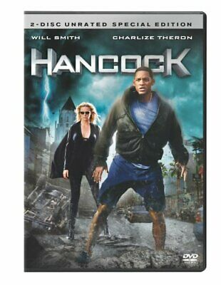 Hancock (Two-Disc Unrated Edition) [DVD] NEW!