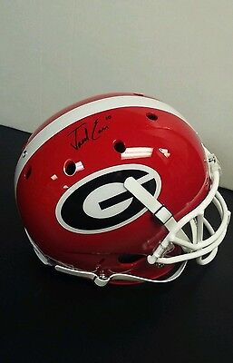 JACOB EASON Georgia Bulldogs SIGNED Full Size Football Helmet PROOF