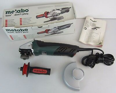 Metabo We 14-125 Plus 125Mm 1450W Corded Angle Grinder - Like New