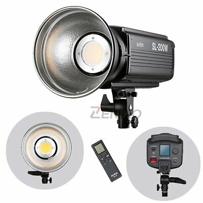Godox SL-200W LCD Panel LED Continuous Video Light Wireless Control Studio