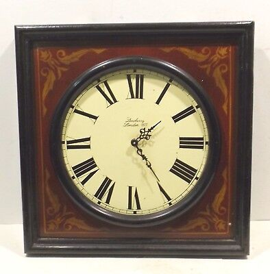 Country Corner Wall Clock (Quartzwerk) Dewberry London 1875 -sammlerstück