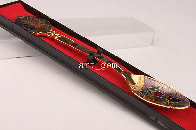 Cloisonne Spoon Senior Special Royal Household Adornment Collectable Handmade An
