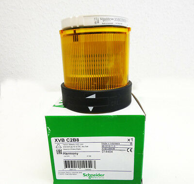 Schneider Electric XVB C2B8  XVBC2B8 014454 Signalleuchte LED gelb -unused/OVP-