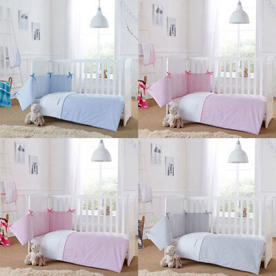 Clair de Lune Barley Bebe 2 Piece Cot/Cot Bed Quilt & Bumper Bedding Set