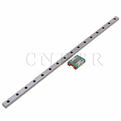 Linear Guide Rail Way Slide 40cm & Extension MGN12 Block for CNC Machine