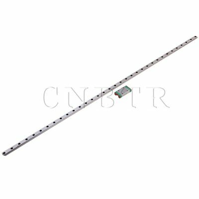 Linear Guide Rail Way Slide 50cm & Extension MGN7 Block for CNC Machine