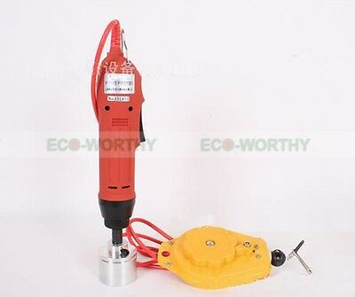 ECO Handheld Electric Manual Bottle Capping Machine Cap Sealing Machine 220V 80W
