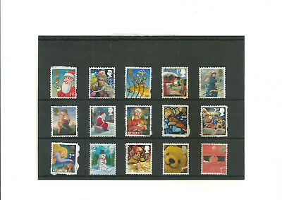GB multi-colored mix commemoratives after 1970