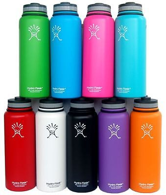Hydro Flask Insulated Stainless Steel 18oz/32oz/40oz Water Bottle Wide Mouth
