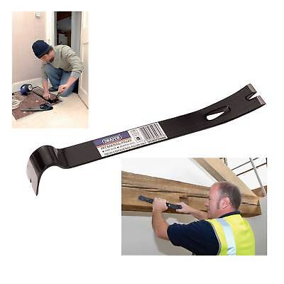 "Draper 15"" Pry/Wrecking Bar/Nail Puller Skirting Board Removing Remover Tool"