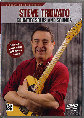 Steve Trovato Country Solos and Sounds DVD 2 Classic Videos & New Lessons SEALED