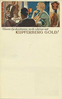Menu' Originale Kupferberg Gold