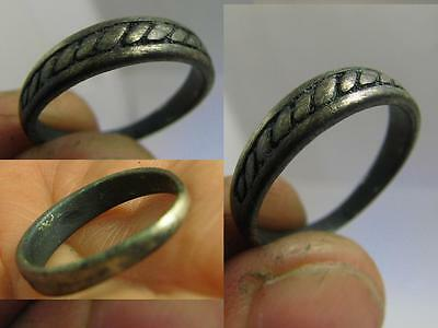 Nice Vintage Sterling Silver Ring 100 Wearable ! #6268
