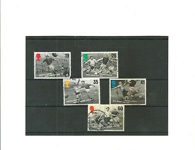 GB set of 5 1996  European Football   used  stamps