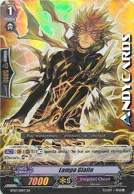 Lampo Giallo ☻ Doppia Rara RR ☻ BT07 019IT ☻ Vanguard ANDYCARDS