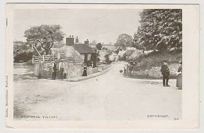 Leicestershire postcard - Whitwell Village