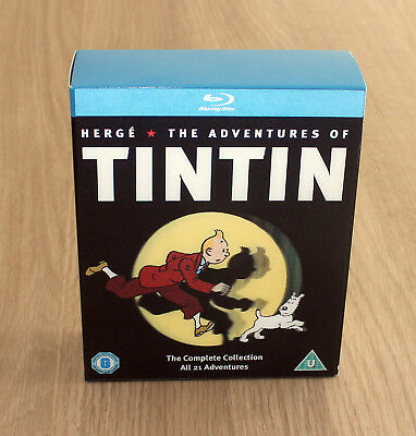 The Adventures of Tintin - Complete Collection Blu Ray Box Set