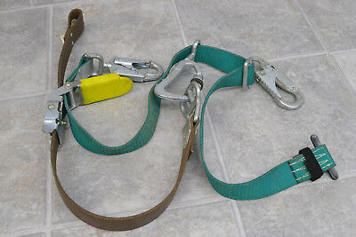 Lightly Used Buckingham Bucksqueeze Fall Protection Harness Climbing Belt