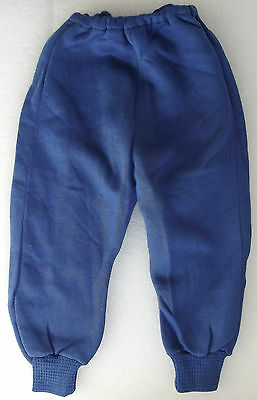 Vintage infants leggings UNUSED jogging bottoms COZINIT 1950s blue baby trousers