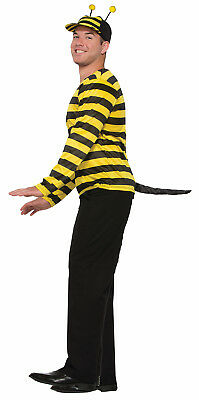 Bumble Bee Black Insect Tail Stinger Tail One Size Halloween Costume Accessory