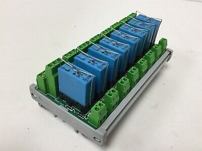 New Altech Corp 8956.3S Safety Relay Module, 8 Channels, Coil Voltage: 24VDC
