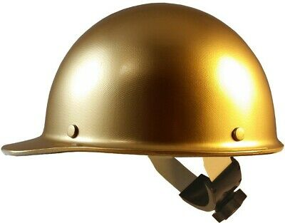 Skullgard Cap Style Hard Hats With Swing Suspension Gold