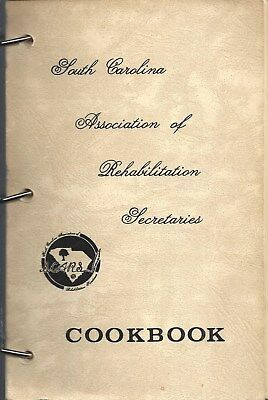 Charleston Sc Vintage Cook Book South Carolina Assn Of Rehab Secretaries * Scars