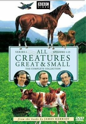 All Creatures Great & Small: Complete Series 1 Collection 4-Disc Set DVD VIDEO