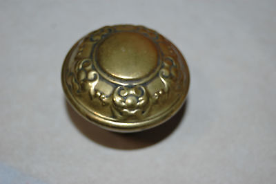 Antique Art Nouveau Estate Brass Victorian EASTLAKE Door Knob