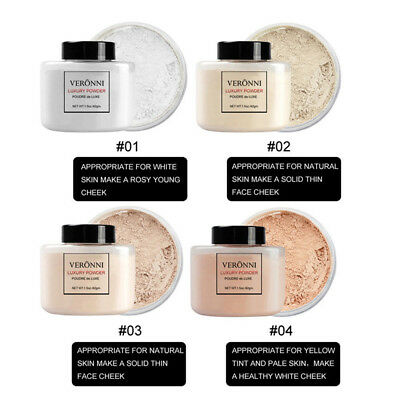 Finish Powder Face Loose Fixed Foundation Powder Translucent Smooth Makeup New